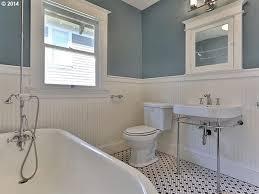 Cottage Bathroom Lighting Cottage Bathroom With Flush Light Built In Bookshelf In