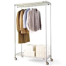 intermetro clothes rack the container store