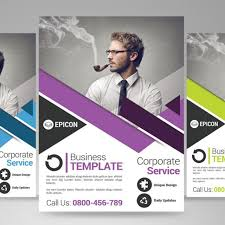 business flyer template template free download on pngtree