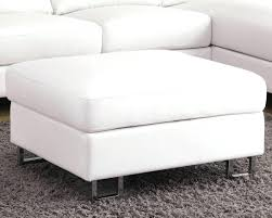 popular 183 list white leather ottoman