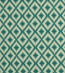 Ikat Home Decor by Upholstery Fabric Robert Allen Ikat Fret Tourmaline Joann