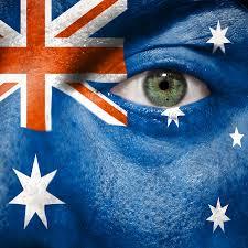 australian flag art fine art america