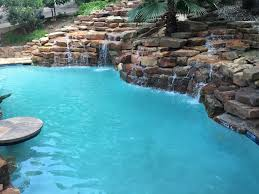 austin custom pool features kb custom pools bee cave tx