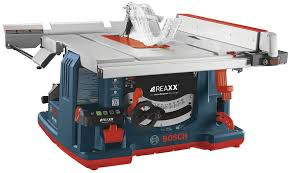 Skil Table Saw Bosch Reaxx Table Saw Saves Fingers And Blades