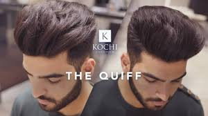 Mens Hairstyle For Big Forehead by Big Volume Quiff Mens Haircut And Hairstyle 2017 Youtube
