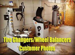 Motorcycle Tire Changer And Balancer Phoenix Pwb1530a Pwc2950a Tire Changer W Helper Arm Wheel Balancer