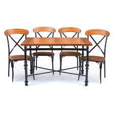 baxton studio elegant 5 piece dining table set studio sacramento