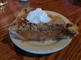 pumpkin pecan streusel pie part of thanksgiving day meal yelp