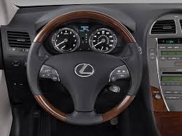 lexus sedan 2011 2011 lexus es350 steering wheel interior photo automotive com