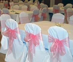 Pink Chair Covers Chair Cover Hire Fiona Firth Weddings Orkney
