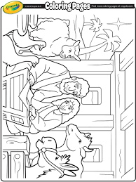 nativity colouring pages printable calendar template nativity