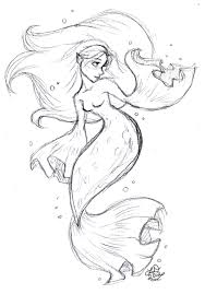 mermaid coloring pages free printable picture gallery