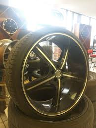 Black Mustang Rims For Sale Used 22