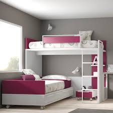 corner bunk bed single contemporary melamine touch 61