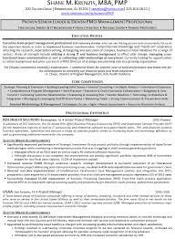Project Management Resume Examples by Senior Project Manager Resume Berathen Com
