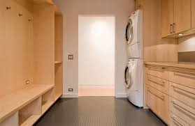 mud laundry room combo design custom homes