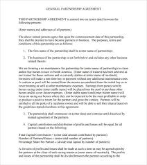 doc 460595 business partnership contract u2013 partnership agreement