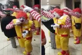 Career At Burger King Mob Of Ronald Mcdonalds Invades U0027s U2013t U0027 Burger King New York Post