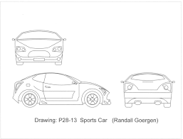 sports cars drawings delighful architecture drawing cars 930 turbo engineering drawings