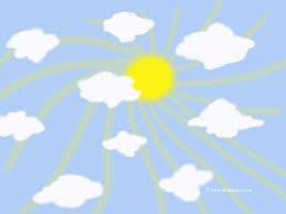 free wallpaper clouds and sun desktop wallpaper