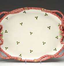 fitz and floyd oval christmas platter ebth