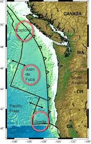 Washington State Earthquake Map by Why The Cascadia Subduction Zone Is Creepy