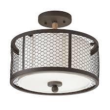 semi flush mount ceiling light fixtures lowes about ceiling tile