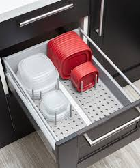kitchen cabinet drawer peg organizer peggy drawer organizer shop kitchen organization umbra