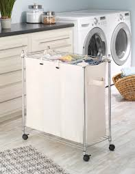 Sorting Laundry Hamper by Amazon Com Whitmor Supreme Laundry Sorter With Canvas Bag Home