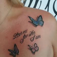 Meaningful Butterfly - 113 gorgeous butterfly tattoos that you must see all the