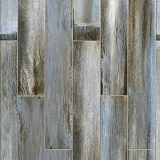 floor and decor wood tile blue wood plank porcelain tile 6in x 33in