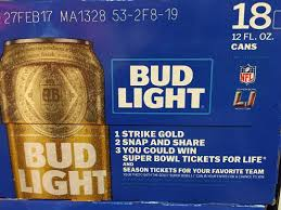 win super bowl tickets for life with bud light strike gold promotion