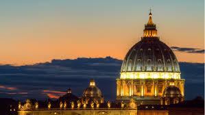 alla cupola di san pietro la basilica di san pietro