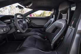 ford supercar interior 2017 ford gt first drive review the right stuff