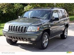 2002 jeep grand 2002 onyx green pearlcoat jeep grand overland 4x4