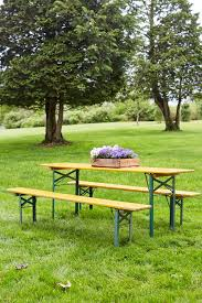german beer garden table and bench vintage folding german beer garden table dundee gardens
