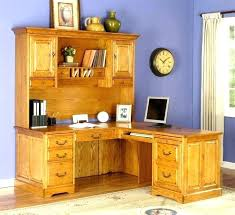 L Shaped Office Desks With Hutch Office Desk And Hutch Awesome White Desk With Drawers On Both