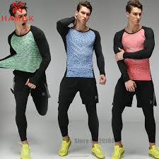 aliexpress buy 3 pieces mens sports suits running clothes