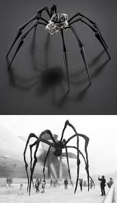 mb u0026f arachnophobia table clock is giant time telling spider on