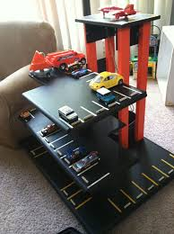 Build Big Wood Toy Trucks by Best 25 Toy Garage Ideas On Pinterest Outdoor Toys Auto Garage