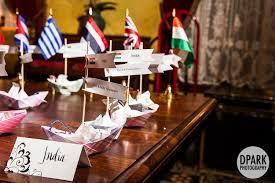 travel themed table decorations castle green pasadena wedding celebrity destination oc la