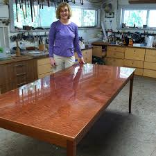 woodworking dining room table jason straw woodworker kathryn s pommelle sapele dining room table