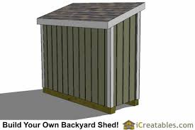 Diy Lean To Storage Shed Plans by 3x8 Lean To Shed Plans The Perfect Low Wall Lean To Plans