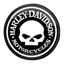 harley davidson skull pub light http www bikerathome com index