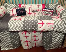 Anchor Bedding Set Anchor Bedding Etsy