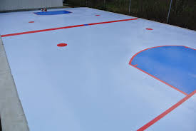 smartrink synthetic ice 20 x 40 backyard rink synthetic ice from