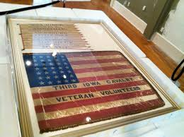 Civil War Battle Flag 2 Civil War Flags Make First State Appearance In 148 Years
