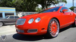bentley red 2016 bentley gt coupe on asanti af184 24 u0027s youtube