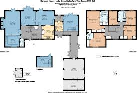 Fishbourne Roman Palace Floor Plan by 5 Bedroom Detached House For Sale In Lodge Green Burton Park