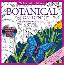 amazon botanical garden coloring book bonus